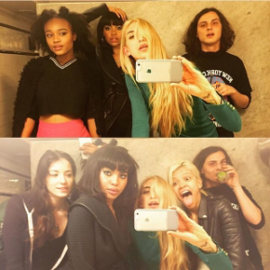 A Jane Hotel tradition - DJ & crew bathroom selfie. Photo credit: Lyz Olko